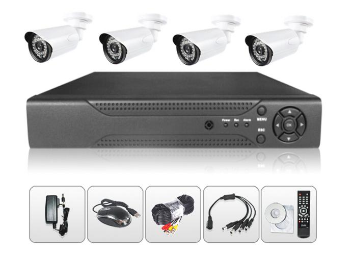 4CH 2MP AHD DVR Kit