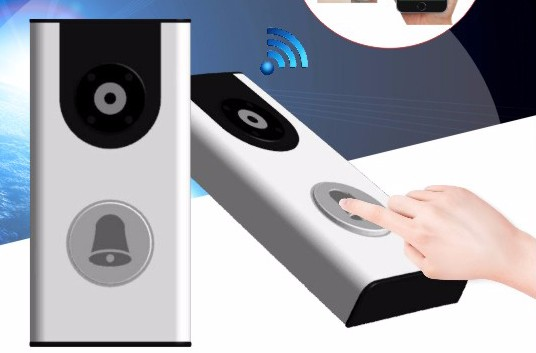 Home Wireless DoorBell Camera With Battery